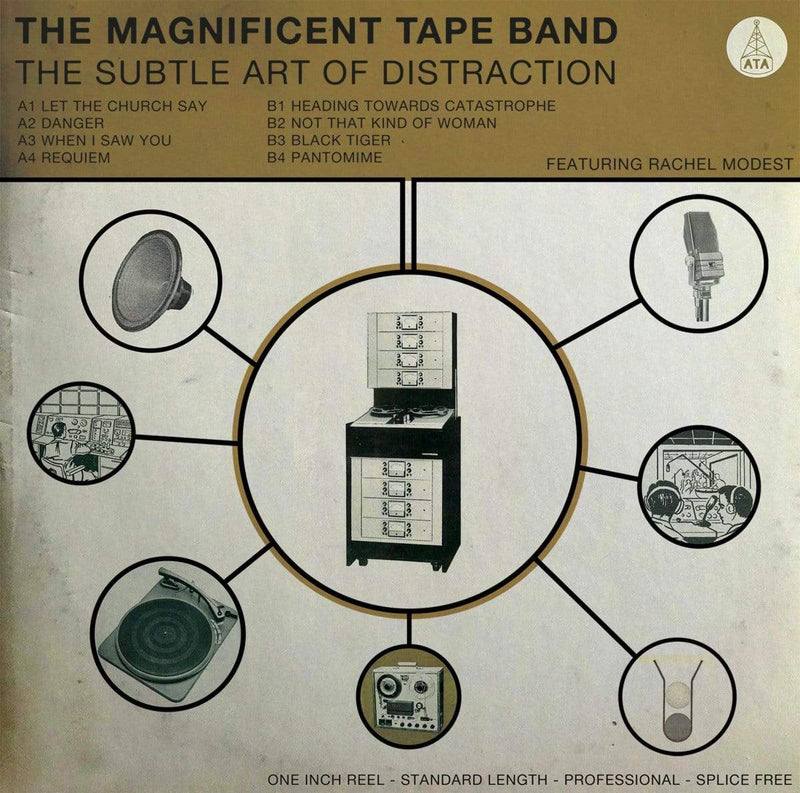 The Magnificent Tape Band - The Subtle Art of Distraction (LP) ATA Records