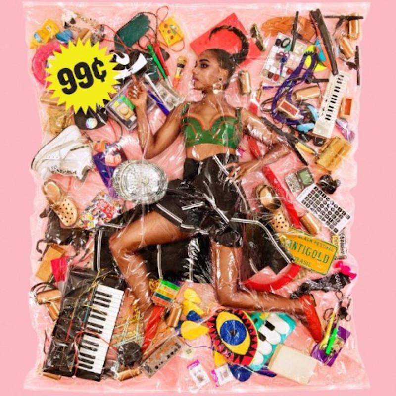 Santigold - 99¢ (LP - Clear Vinyl + Download Card) Atlantic