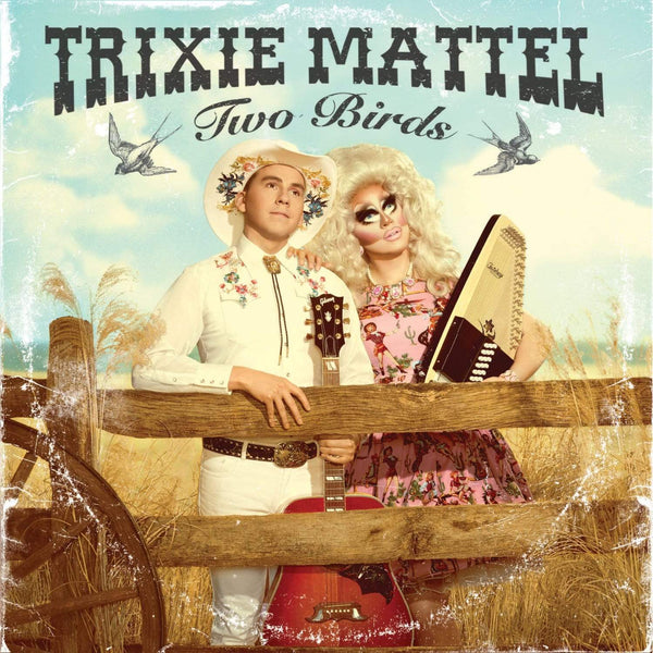 Trixie Mattel - Two Birds, One Stone (LP - Clear Vinyl w/ Pink Blob) ATO Records