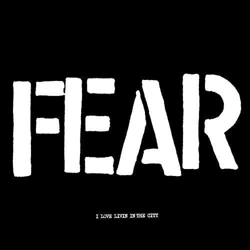 "Fear - I Love Living In The City (12"") Atom Age Industries"