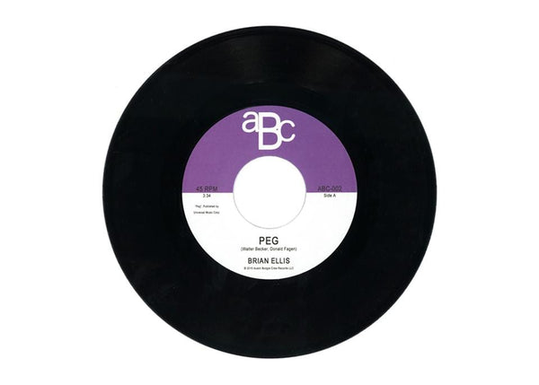 "Brian Ellis - Peg b/w Dream Wave (7"") Austin Boogie Crew"