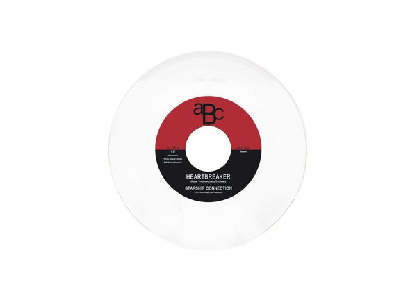 "Starship Connection - Heartbreaker b/w Do It 4 U (7"" - White Vinyl) Austin Boogie Crew"