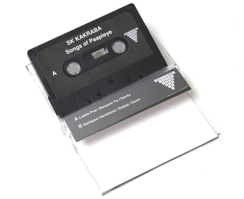 SK Kakraba - Songs of Paapieye (Cassette) Awesome Tapes From Africa