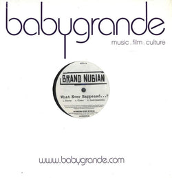 "Brand Nubian - What Ever Happened...? / Momma (12"") Babygrande"