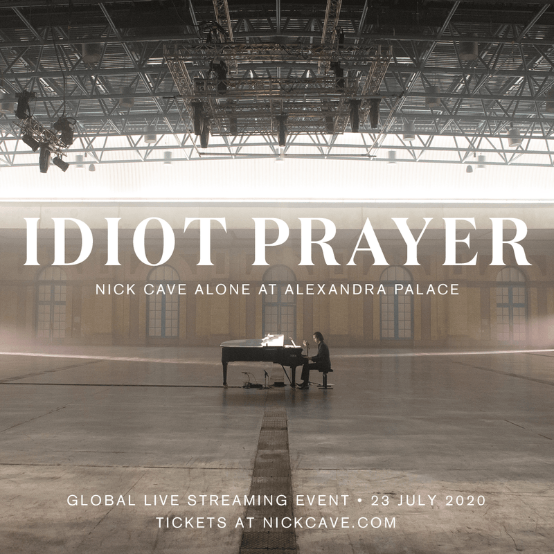 Nick Cave & the Bad Seeds - Idiot Prayer: Nick Cave Alone at Alexandra Palace (2xLP) Bad Seed Ltd.