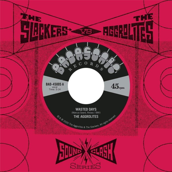 "The Aggrolites & The Slackers - Soundclash Series (7"") Badasonic Records"