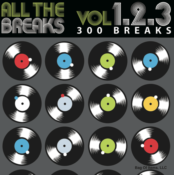 All The Breaks, Vol. 1+2+3 (CD) Bag Of Items, LLC