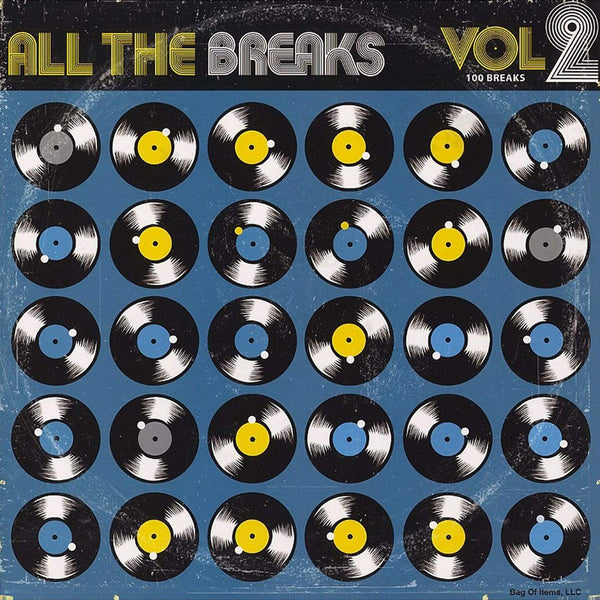 All The Breaks Vol. 2 (LP) Bag Of Items, LLC