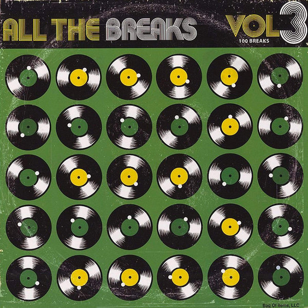 All The Breaks Vol. 3 (LP) Bag Of Items, LLC