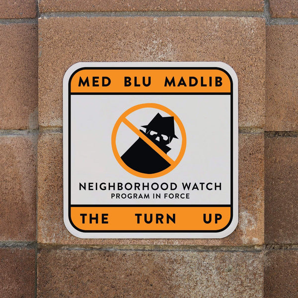MED/Blu/Madlib - The Turn Up (EP)(Digital) Bang Ya Head Entertainment