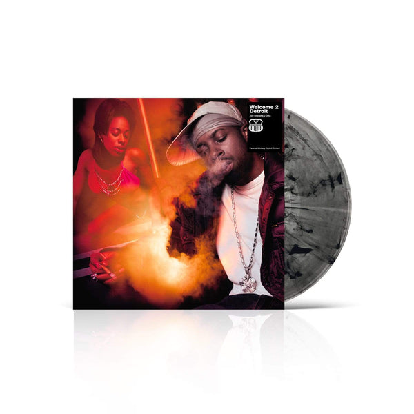 J Dilla - Welcome 2 Detroit: Smoked-Out Edition (2xLP - Fat Beats Exclusive Clear/Black Vinyl) BBE