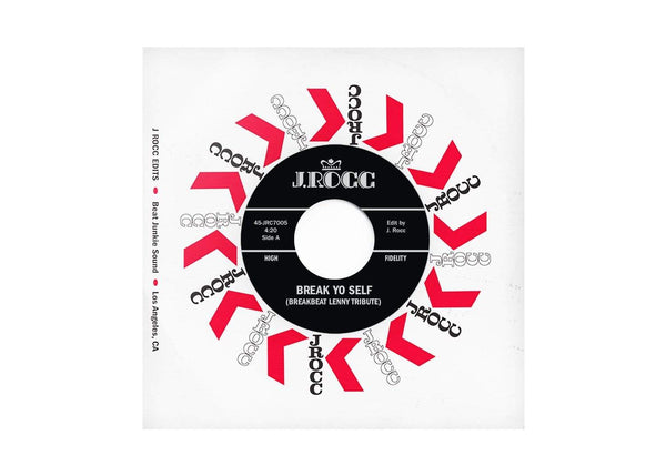 "J Rocc - Funky President Edits Vol. 5:  Break Yo Self (7"") Beat Junkie Sound"
