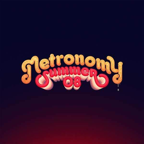 Metronomy - Summer 08 (LP + CD) Because Music