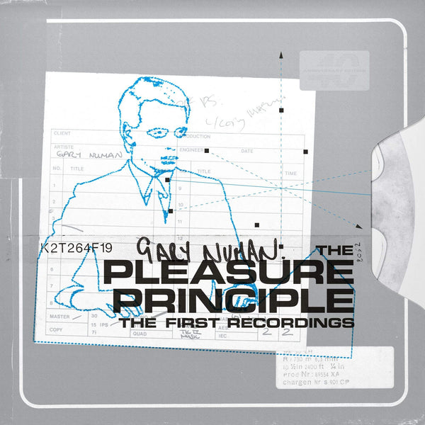 Gary Numan - The Pleasure Principle: The First Recordings (2xLP - Orange Vinyl) Beggars Banquet