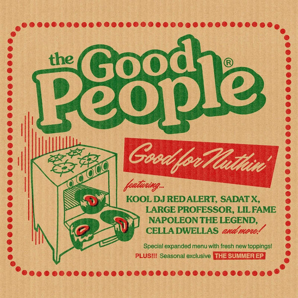 Good People - Good For Nuthin + The Summer EP (CD) Below System Records