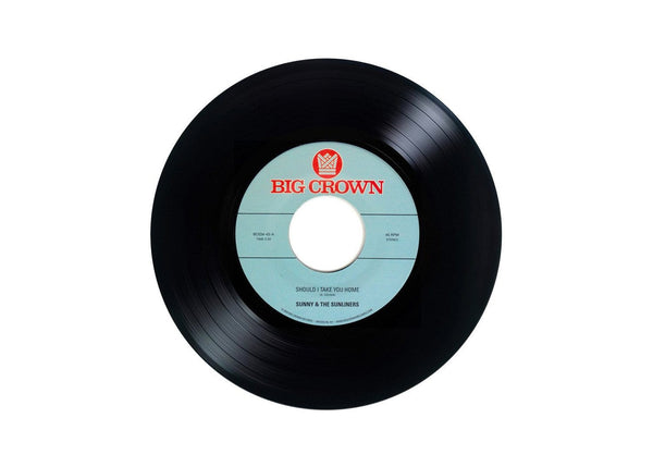 "Sunny & The Sunliners - Should I Take You Home b/w My Dream (7"") Big Crown Records"