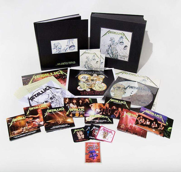 Metallica - ...And Justice For All (6LP+11CD+4DVD Box - Deluxe Edition) Blackened Recordings