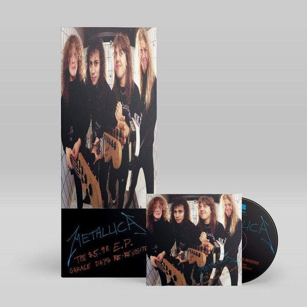 Metallica - Garage Days Re-Revisited (CD - Deluxe Longbox - Limited Edition) Blackened Recordings