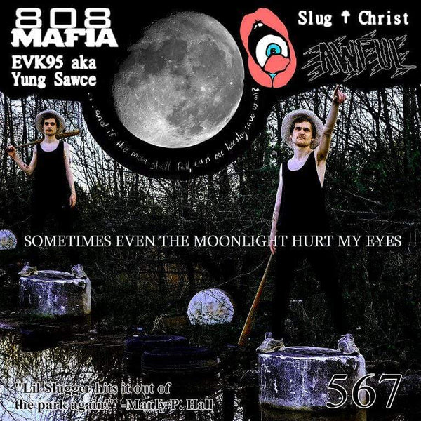 Slug Christ ‎- Sometimes Even The Moonlight Hurt My Eyes (LP - Clear/White Splatter Vinyl) Blackhouse