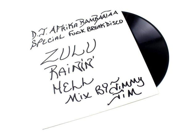 "DJ Shadow & Cut Chemist/Jimmy Jim - Zulu Rainin' Hell Mix (12"") Boo-Hooray Records"