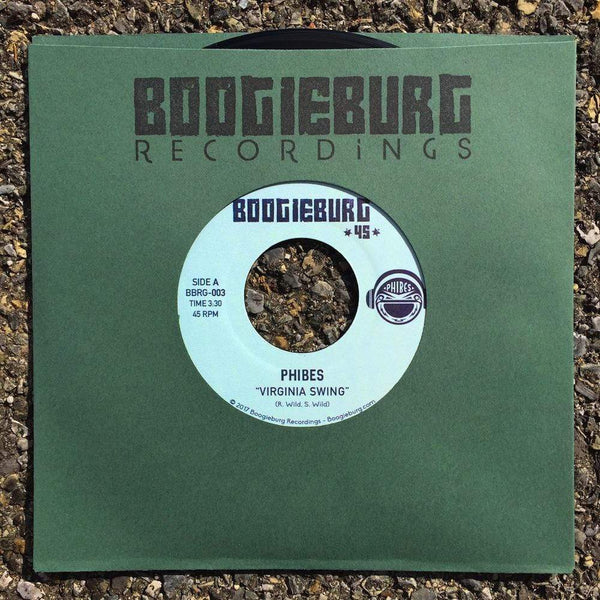 "Phibes - Virginia Swing b/w Funky Rubber Band (7"") Boogieburg Recordings"