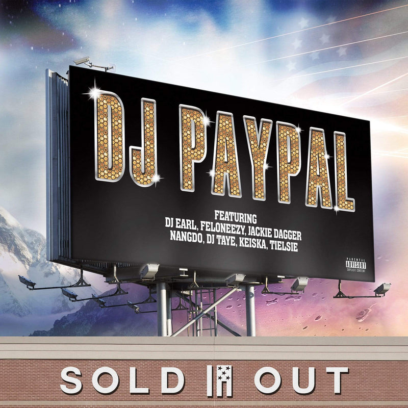 DJ Paypal - Sold Out (LP) Brainfeeder