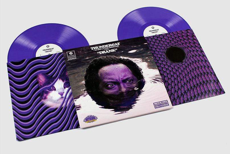Thundercat, OG Ron C & The Chopstars - Drank (2xLP - Purple Vinyl) Brainfeeder