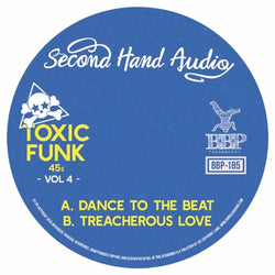 "Second Hand Audio - Toxic Funk Vol. 4 (7"") Breakbeat Paradise Recordings"