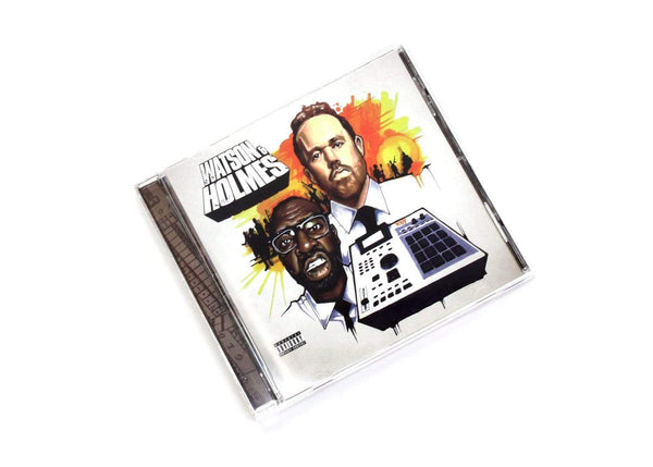 Blacastan & Stu Bangas - The Uncanny Adventures Of Watson & Holmes (CD) Brick Records