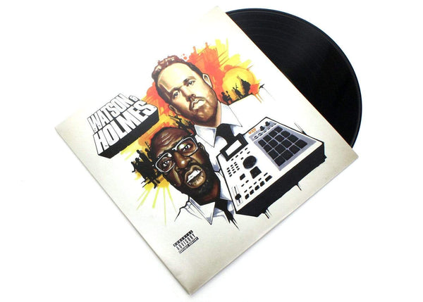 Blacastan & Stu Bangas - The Uncanny Adventures Of Watson & Holmes (LP) Brick Records