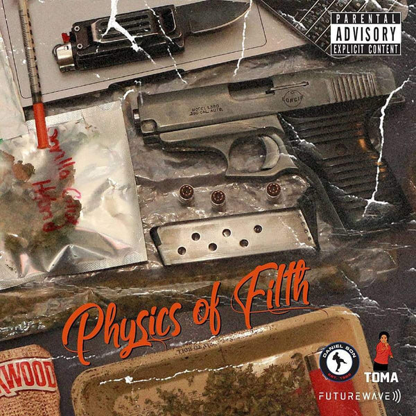 Daniel Son, Asun Eastwood & Futurewave - Physics of Filth (CD) Brown Bag Money