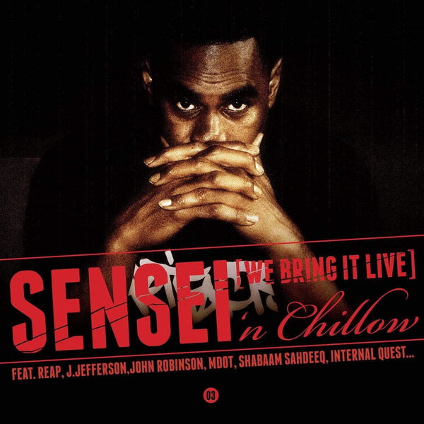 Sensei 'n Chillow - We Bring It Live (CD) Catharsis Productions