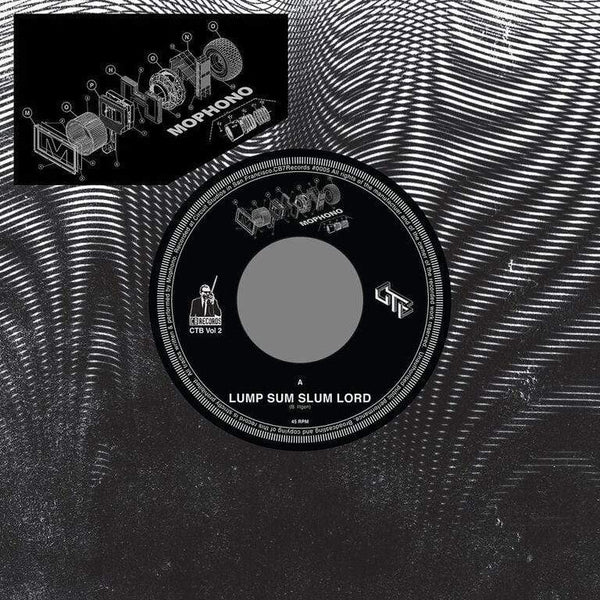 "Mophono - Lump Sum Slum Lord b/w Dabrye Remix (7"" - Clear Vinyl + Download Card) CB Records"