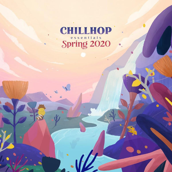 Chillhop Music - Chillhop Essentials - Spring 2020 (2xLP - Purple Vinyl) Chillhop Music