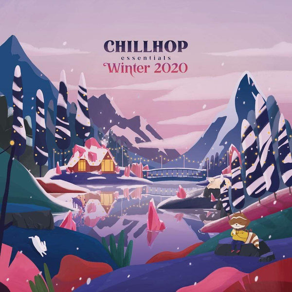 Chillhop Music - Chillhop Essentials - Winter 2020 (2XLP - Marbled Vinyl) Chillhop Music