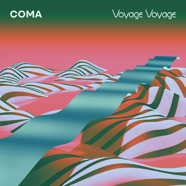 COMA - Voyage Voyage (LP - Limited Turquoise Vinyl) City Slang