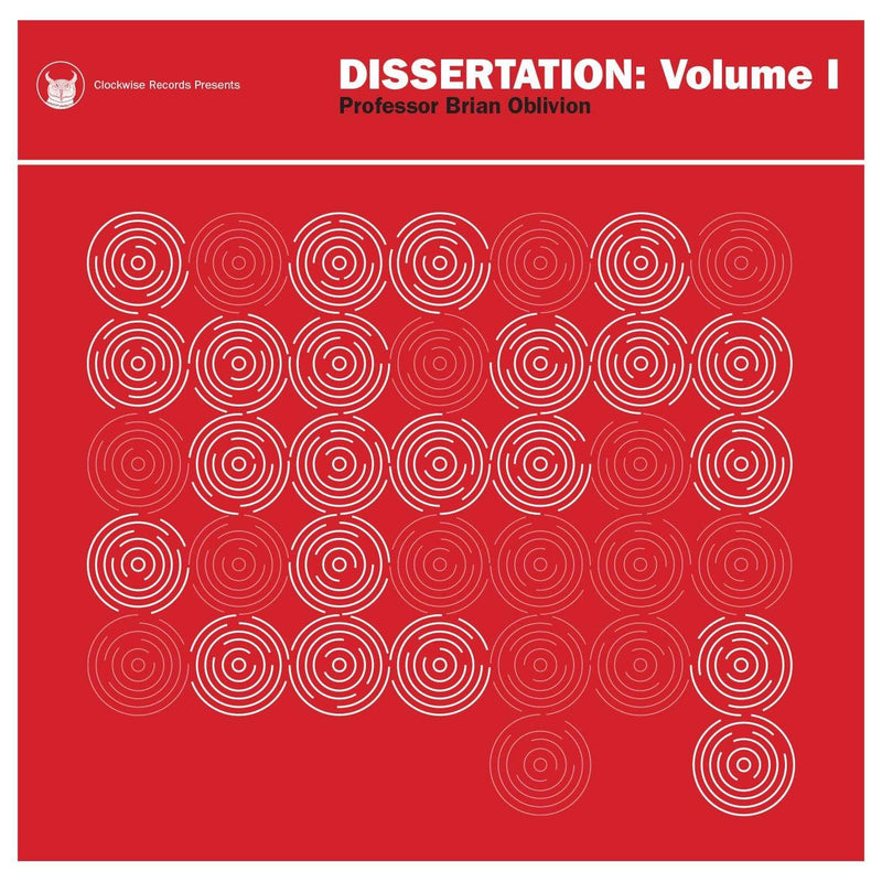Professor Brian Oblivion - Dissertation: Volume 1 (Cassette + Download Card) Clockwise Records