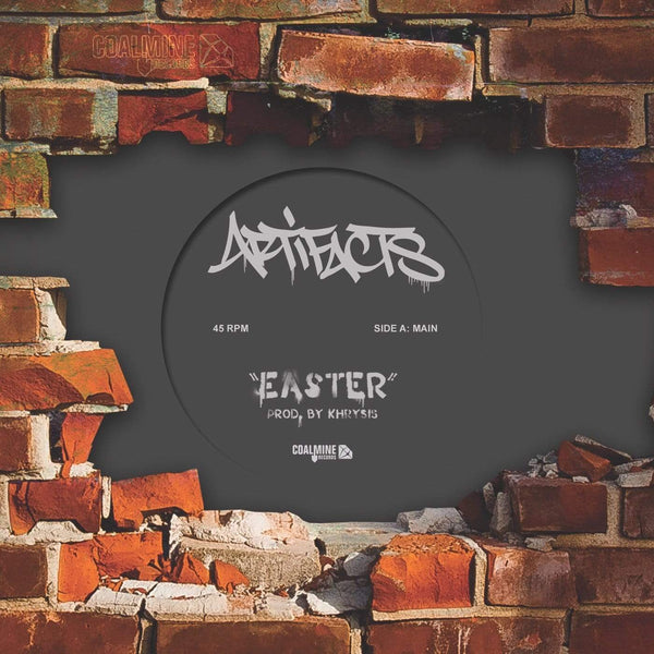 "Artifacts - Easter b/w Instrumental (7"" - White Vinyl) Coalmine Records"