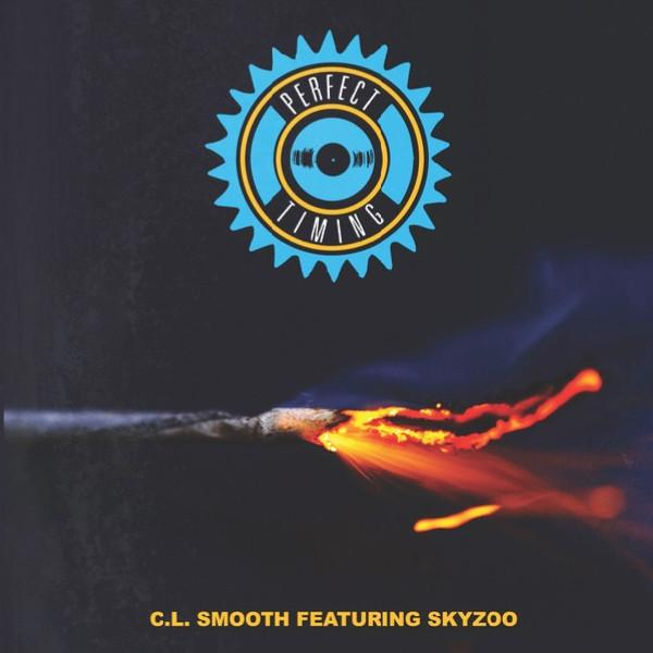 "C.L. Smooth feat. Skyzoo - Perfect Timing b/w Instrumental (7"" - Blue Vinyl) Coalmine Records"