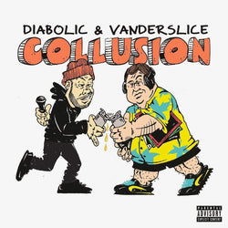 Diabolic & Vanderslice - Collusion (CD) Coalmine Records