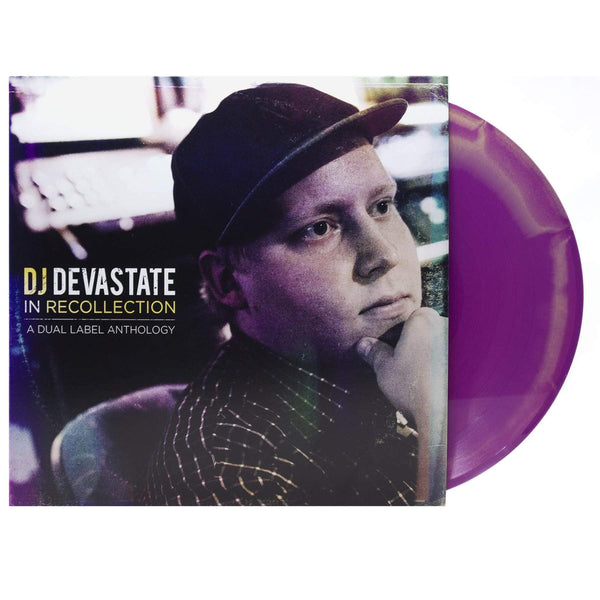 DJ DEVASTATE - In Recollection: A Dual Label Anthology 2012-2018 (LP - Purple/Mustard Swirl Vinyl) Coalmine Records