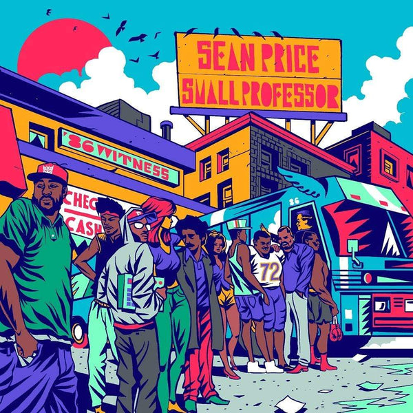 Sean Price & Small Professor - 86 Witness (LP - Red Vinyl) Coalmine Records/Duck Down Music