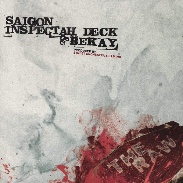 "Saigon, Inspectah Deck & Bekay - The Raw b/w Remix (7"" - Red Vinyl) Coalmine Records"