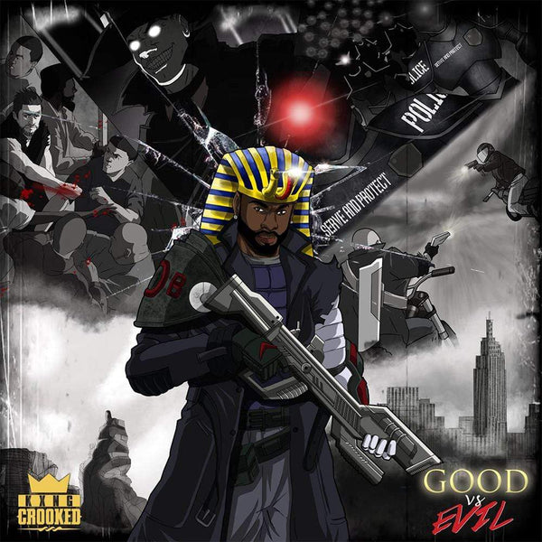 KXNG CROOKED - GOOD VS EVIL (2XLP) COB/Holy Toledo