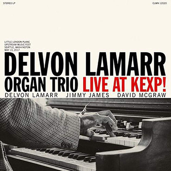 Delvon Lamarr Organ Trio - Live At KEXP! (LP - Black Vinyl) Colemine Records