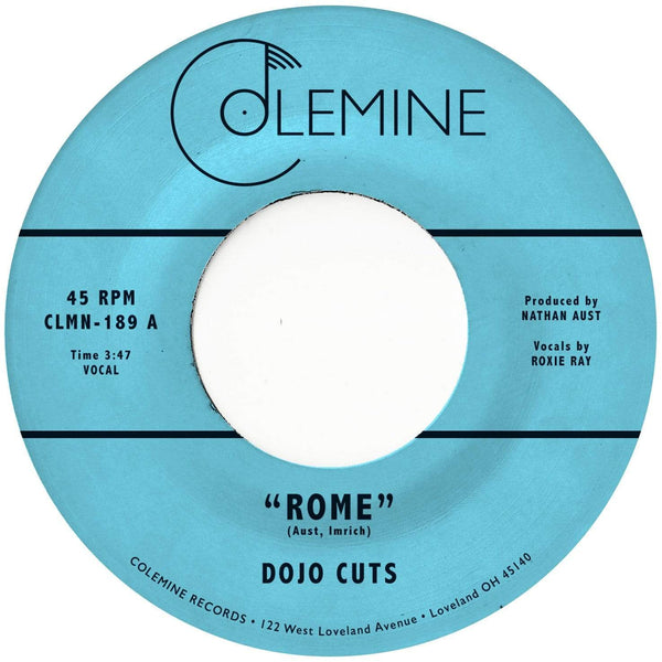"Dojo Cuts - Rome (7"" - Orange Vinyl) Colemine Records"