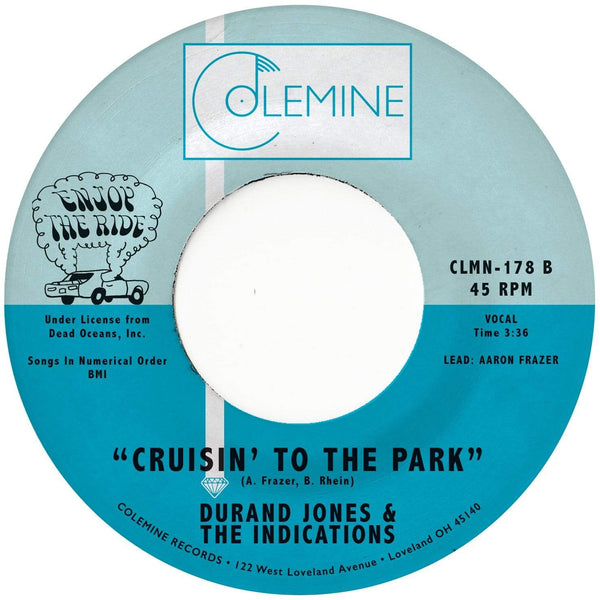"Durand Jones & The Indications - Morning In America b/w Cruisin' to the Park (7"" - Limited Orange Vinyl) Colemine Records"
