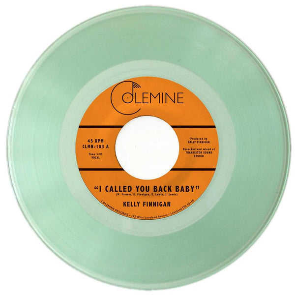 "Kelly Finnigan - I Called You Back Baby b/w Impressions Of You (7"" - Limited Coke Bottle Clear Vinyl) Colemine Records"