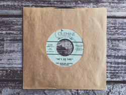 "The Harlem Gospel Travelers - He's On Time b/w Wash Me, Lord (7"") Colemine Records"