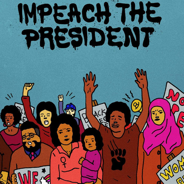 "The Sure Fire Soul Ensemble ft. Kelly Finnigan - Impeach the President (7"" - Blue Vinyl) Colemine Records"